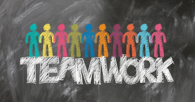 teamwork, panáčci