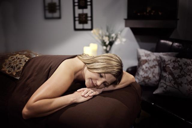 relaxující žena