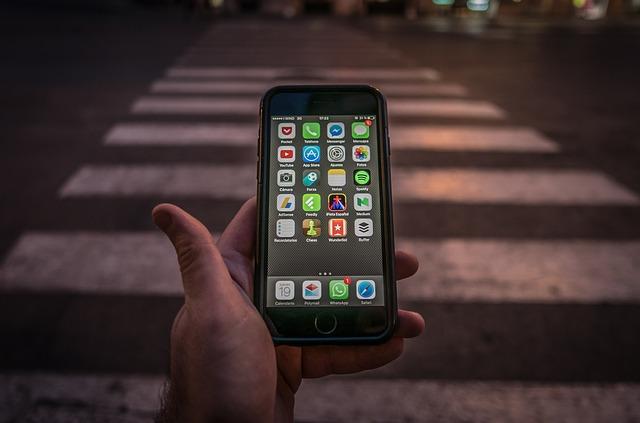 ulice smartphone